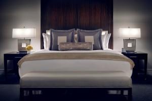 Bedroom Shot of Bed-TrumpChicago