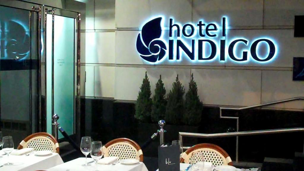 Hotel Indigo Entrance
