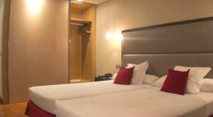 Hotel Compostela-Bedroom